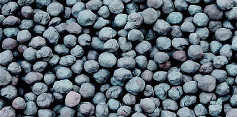 Iron ore pellets