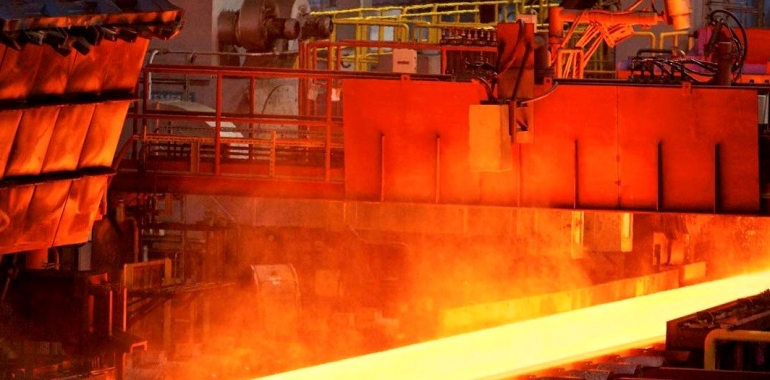 July 2020 crude steel production