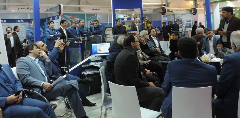 نخستین نمایشگاه و جشنواره فولاد ایران در برج میلاد آغاز به کار کرد
